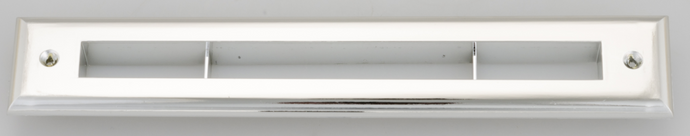 Chrome Slotted Trim Plate Cover for UPC-67 and 68 2