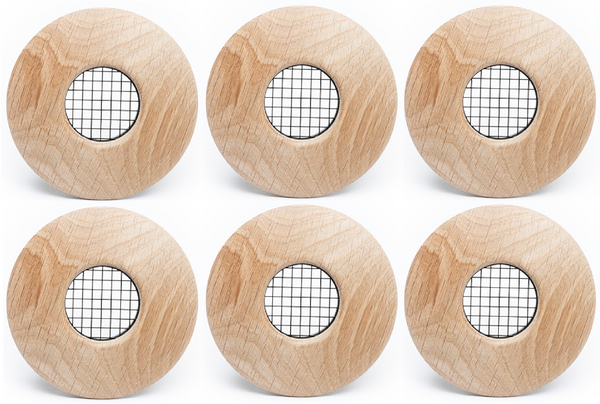 UPC-57T-WO-6-2 - Outlet, TFS, Wood, White Oak, Face Plate Only (6 pcs)