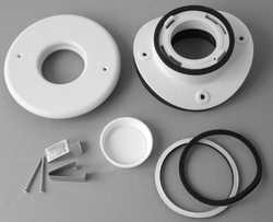 "UPC-89TM-1 - Unico Install Kit, 2"", Round Metal Plenum, TFS"