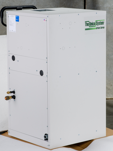 V3642B-1EC2CH - Vertical Air Handler, SCB, Variable Speed, 230V, Chilled Water, with HWC