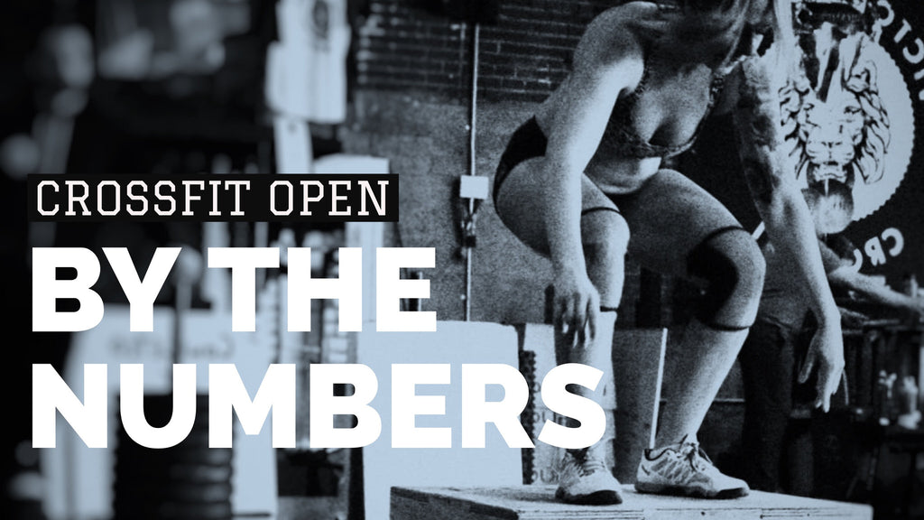 CrossFit Open By The Numbers. 17.1 Edition