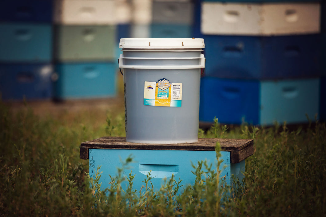 60lb. Honey Bucket (5 gallon bucket)