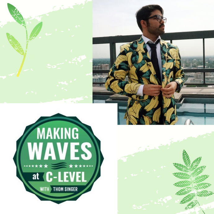 CEO Roman Gonzalez Featured on Making Waves at C-Level with Thom Singer Podcast