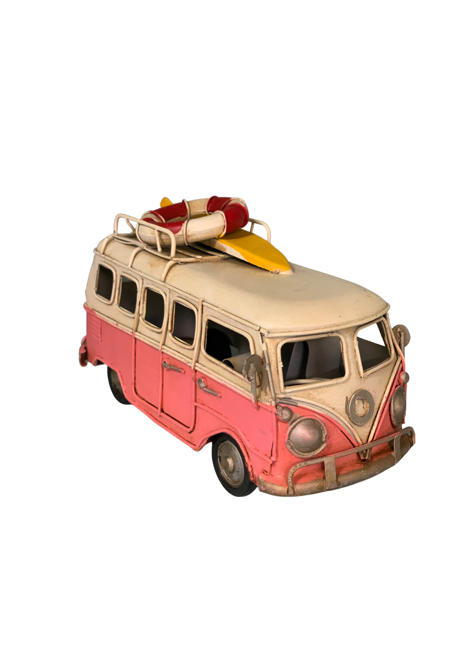 Combi VanPink with Surfboard