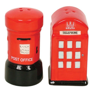 London Letter box & Phone Box Salt n Pepper shakers