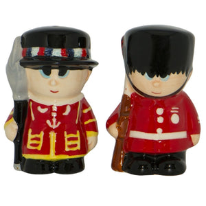 Tower Guard Salt n Pepper shakers