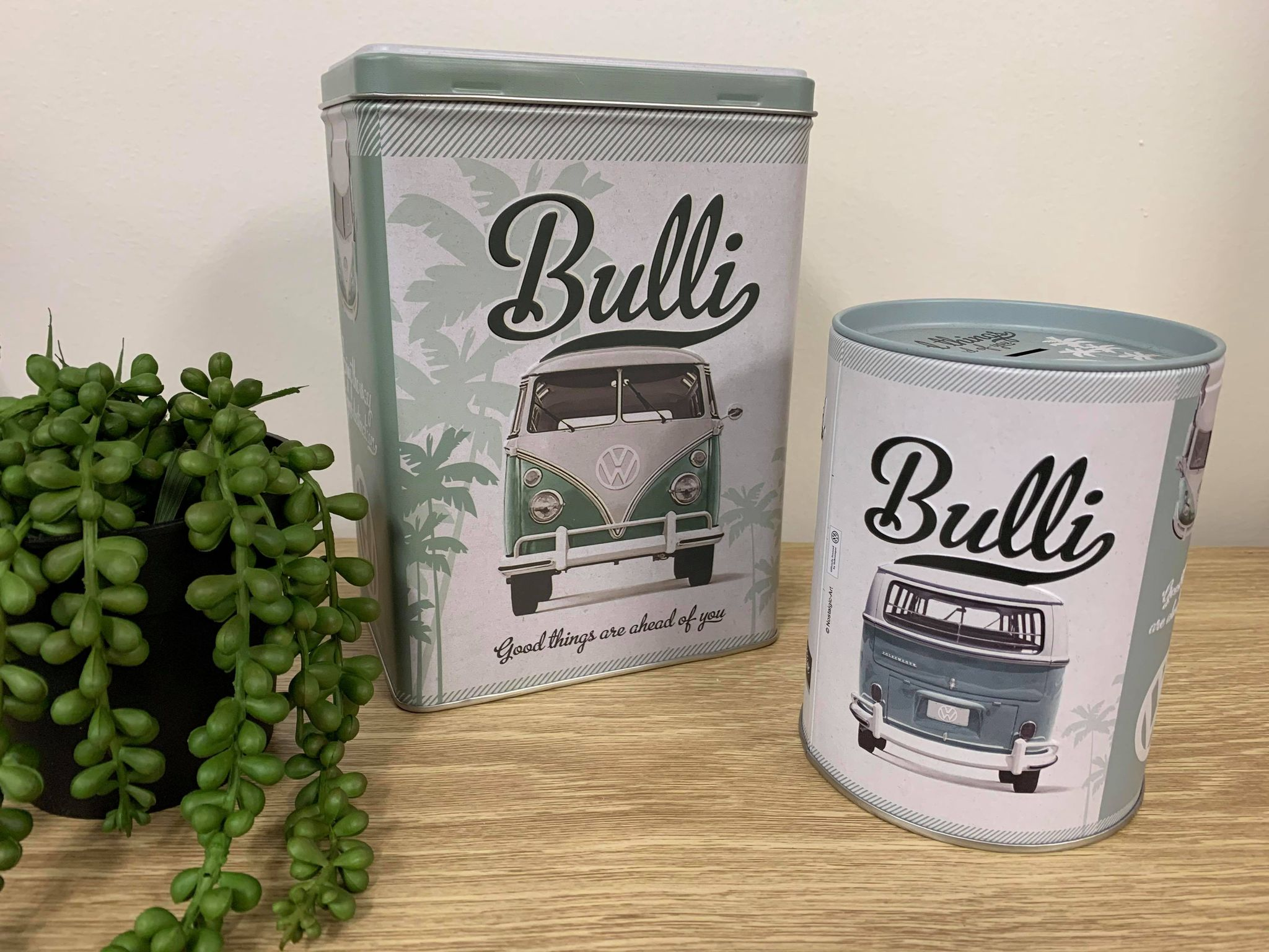 Combi Bulli round money Tin