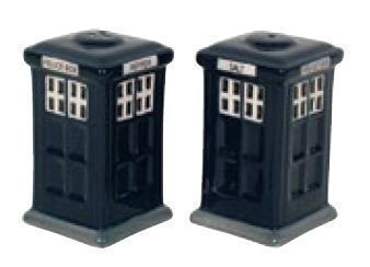 Police Box Salt n Pepper shakers