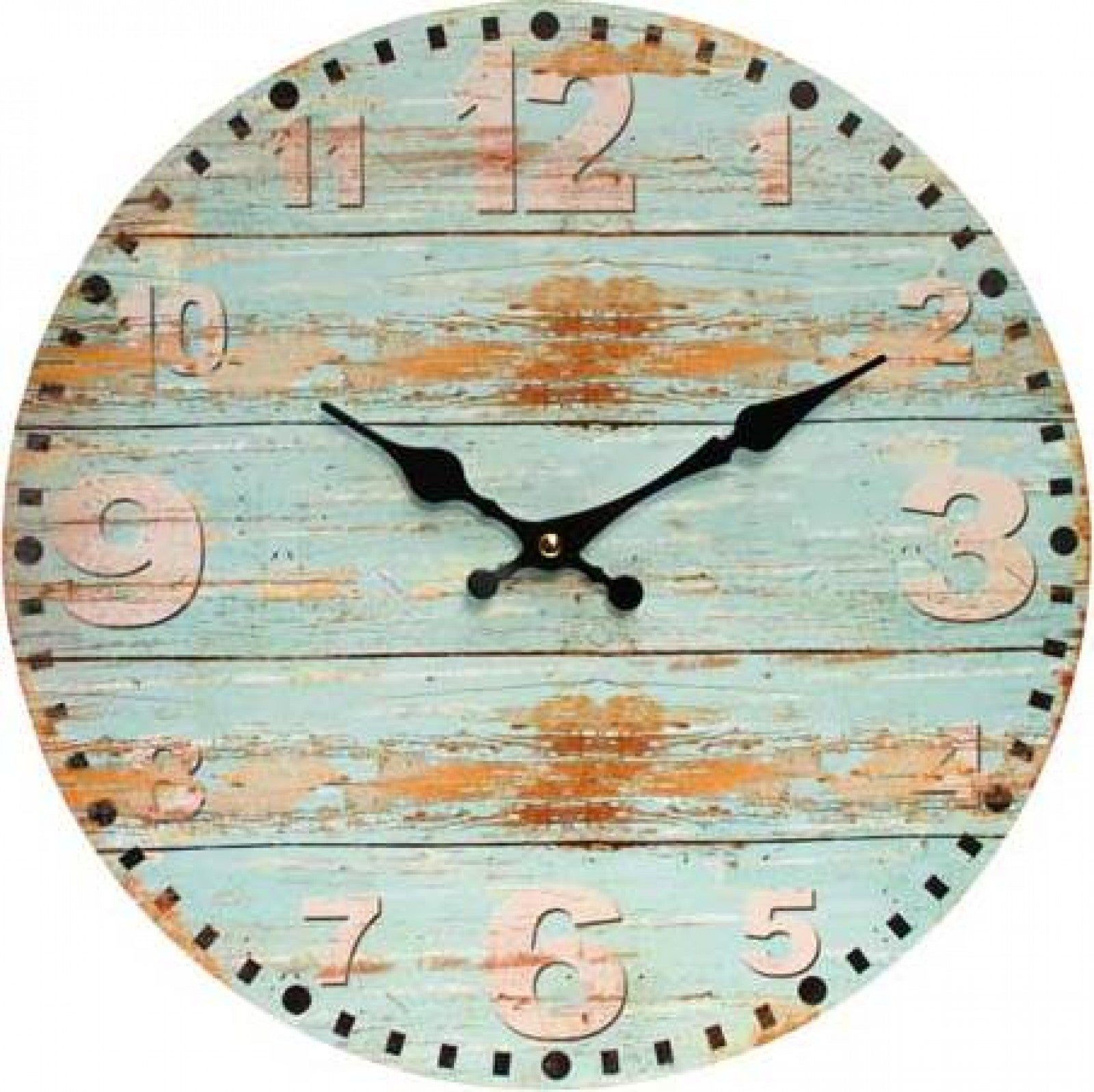 Clock Beach Blue