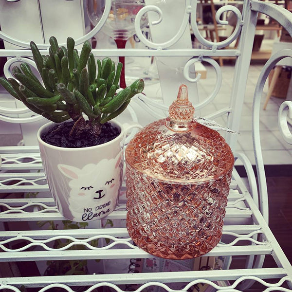 Rose Gold Cupola Candles