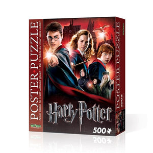 Poster Puzzle Harry Potter Hogwarts