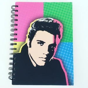 Elvis Notebook Pop Art