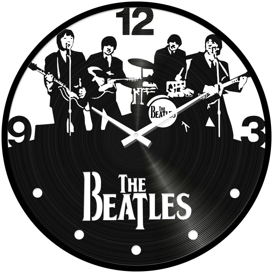 The Beetles Desk Clock
