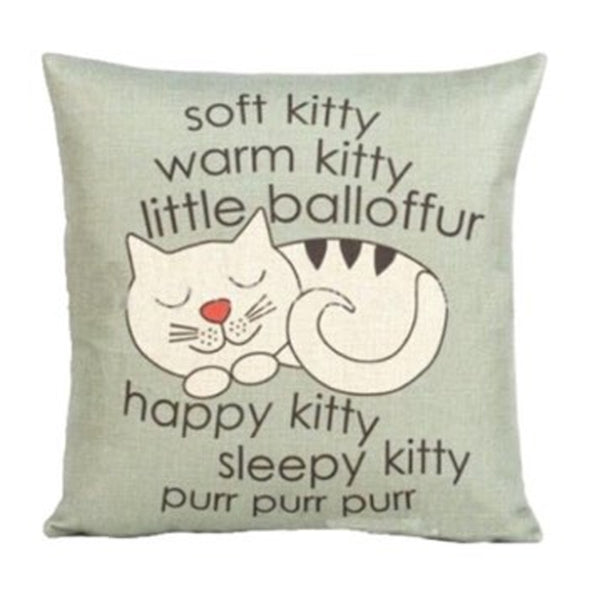 Soft Kitty Cushion
