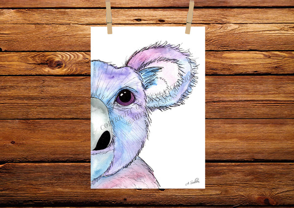 Koala Watercolour Painting