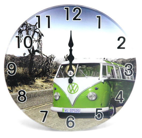 Green Combi Desk Clock
