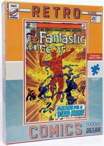 Retro Fantastic Four Jigsaw puzzle