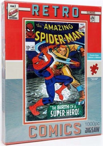 Retro Spider-Man Jigsaw puzzle