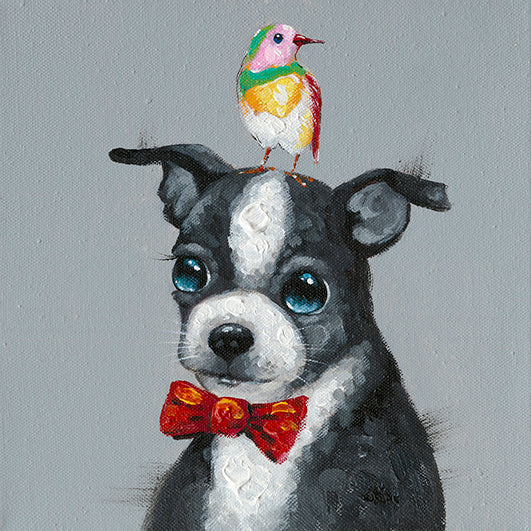 Jack Russel Dog Canvas