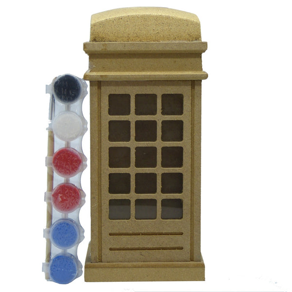 Telephone Money Box Paint Kit