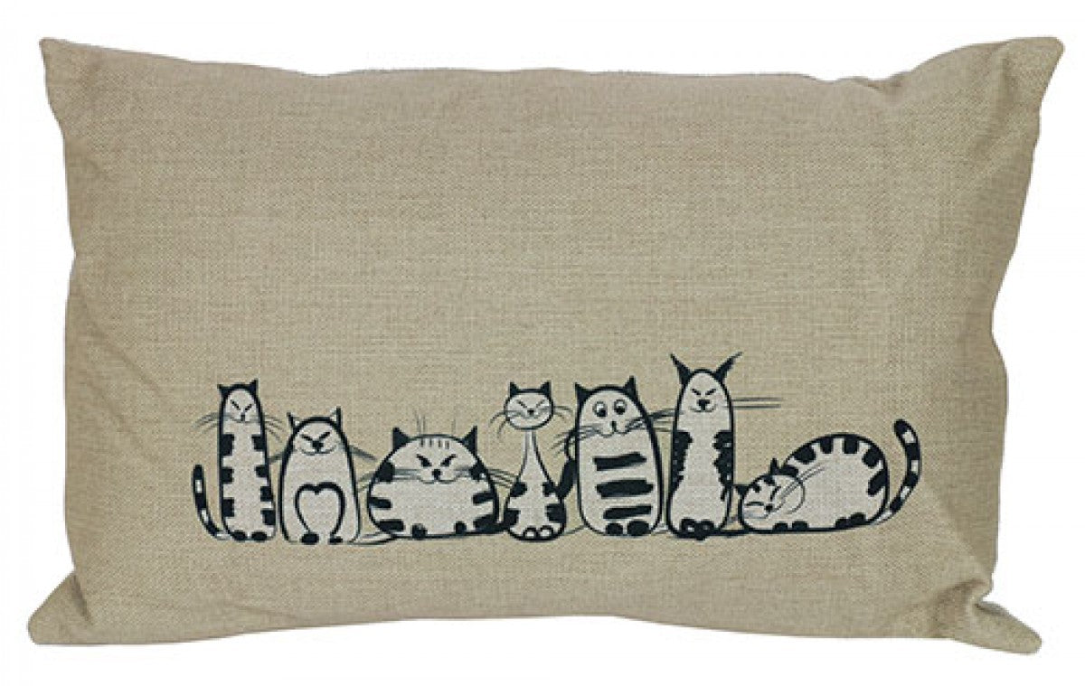 Cats lineup Cushion