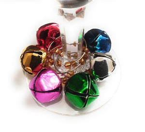 Christmas Bell Wine Charms