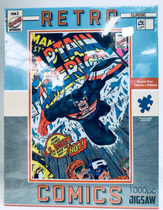 Retro Captain America Jigsaw puzzle