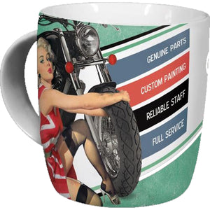 Best garage for motorcycles Mug