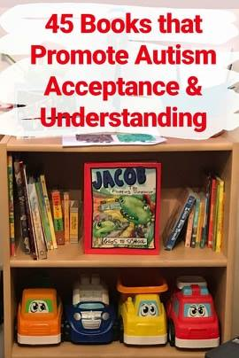 The Latest Number In Autism Is 1 In 45 >> 45 Books That Promote Autism Acceptance Understanding The Noah