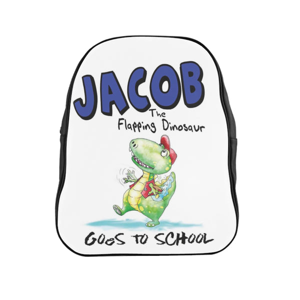 Flapping Dinosaur Vinyl Backpack