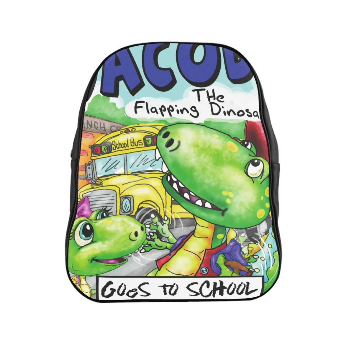 Jacob Cover Art Vinyl Back Pack Holiday Sale