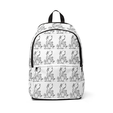 Jacob Sketch Fabric Backpack