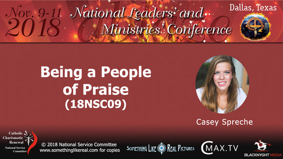Nov 2018 NLMC : Being A People of Praise