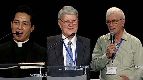 General Session- Rivers of Living Water and Witness, Vinson Synan and Ralph Martin, Speaker Fr. Castaneda