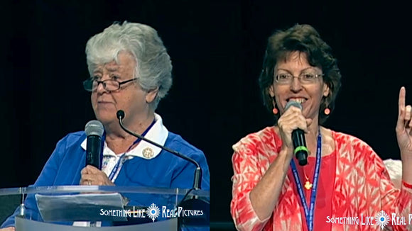 English Session- Witness to Journey Part 2 Speakers Dr. Mary Healy and Sr Nancy Keller