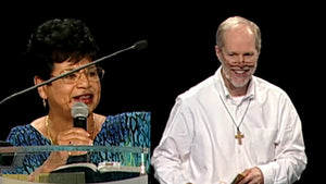 General Session- Healing Service and Witness,  Esther Garzon, Speaker Damian Stayne
