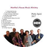 Philly Spirit: Martha's House Music Ministry CD
