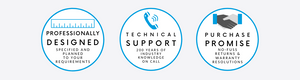 professional designs technical support purchase promise