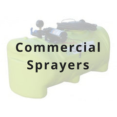 Commercial sprayers