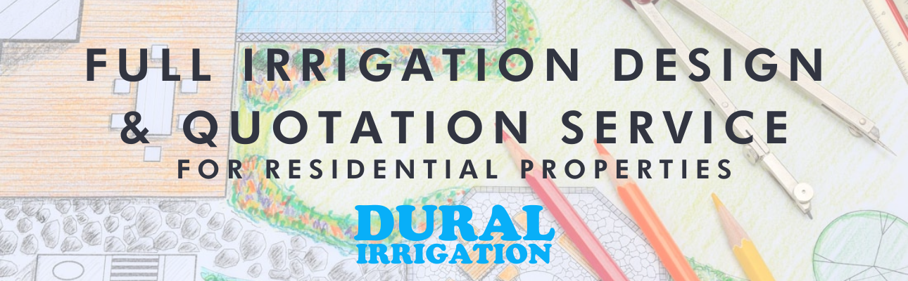 Full Irrigation Design and Quotation Service