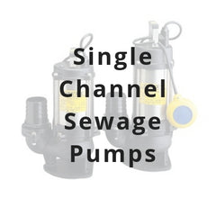 Single Channel Sewage Pumps