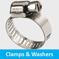 clamps and washers