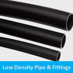 low density pipe and fitiings
