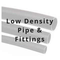low density pipe and fittings
