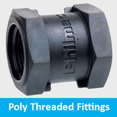 poly threaded fittings