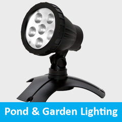 pond and garden lighting