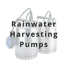 rainwater harvesting pumps