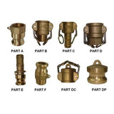 100mm Brass Camlock Fittings
