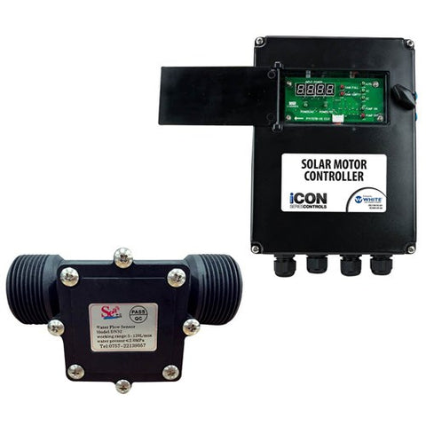 iCON Solar Motor Pro Control Plug & Play with Flow meter
