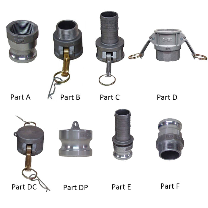 100mm Aluminum Camlock Fittings